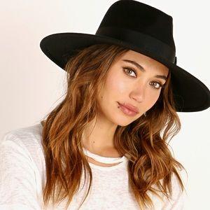 NWT Brixton Joanna Wool Felt Hat